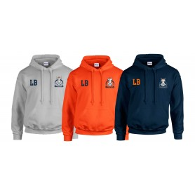 Grangemouth Broncos - Broncos Embroidered Inititals Hoodie