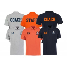 Grangmouth Broncos - Broncos Printed and Embroidered Coach or Staff Polo Shirt