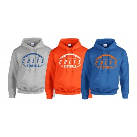 Grangemouth Colts - Colts Ball Logo Hoodie