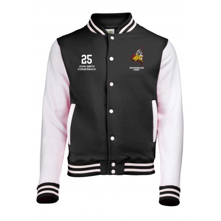Northumberland Vikings - Embroidered Varsity Jacket