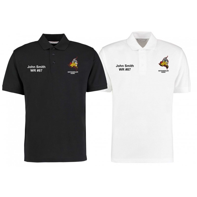 Northumberland Vikings - Embroidered Polo Shirt
