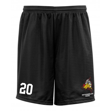 Northumberland Vikings - Embroidered Mesh Shorts