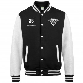 Leicester Longhorns - Customised Embroidered Varsity Jacket