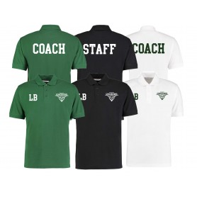 Leicester Longhorns - Embroidered and Print Coach or Staff Polo Shirt