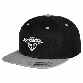Leicester Longhorns - Embroidered Logo 2 Tone Snapback