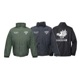 Leicester Longhorns - Custom Embroidered Heavyweight Dover Rain Jacket