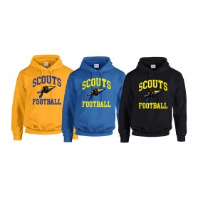 Spijkenisse Scouts - Youth Football Logo Hoodie
