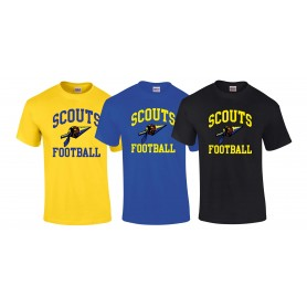 Spijkenisse Scouts - Youth Football Logo T-Shirt