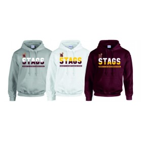 Southampton Stags - Athletic Split Text Hoodie