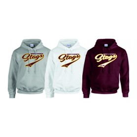 Southampton Stags - Script Text Hoodie