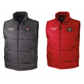 Humber Warhawks- Customised Embroidered Bodywarmer