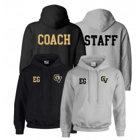 Clyde Valley Blackhawks - CV Printed and Embroidered Coach or Staff Hoodie