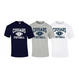 Cobham Cougars - Custom Ball Logo 1 T-Shirt