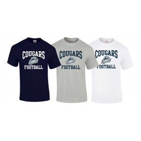Cobham Cougars - Football Logo T-Shirt