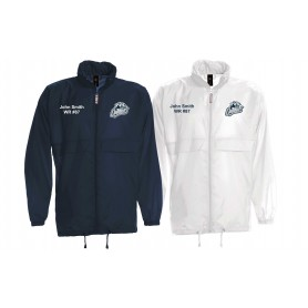 Cobham Cougars - Customised Embroidered Lightweight College Rain Jacket