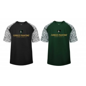 Furness Phantoms- Printed Blend Performance Tee