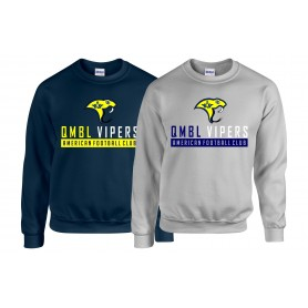 QMBL Vipers - Athletic Text Logo Sweatshirt