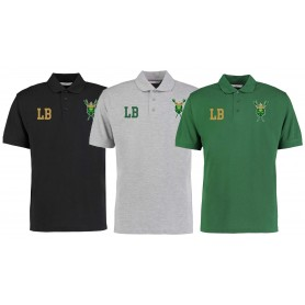 Bury Saints - Embroidered Initials Polo Shirt