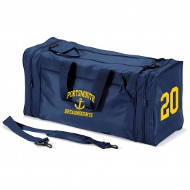 Ports Dreadnoughts - Anchor Embroidered & Printed Kit Bag