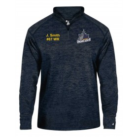 Ports Dreadnoughts - Ship Customised Embroidered Tonal Blend Sport 1/4 Zip
