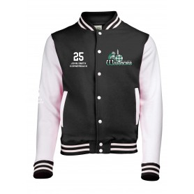 South Wales Warriors - Embroidered Varsity Jacket