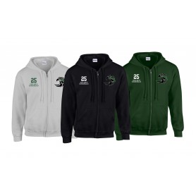 Exeter Falcons - Customised Embroidered Zip Hoodie