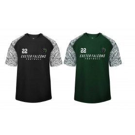 Exeter Falcons - Printed Blend Performance Tee