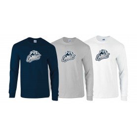 Cobham Cougars - Full Logo Long Sleeve T Shirt