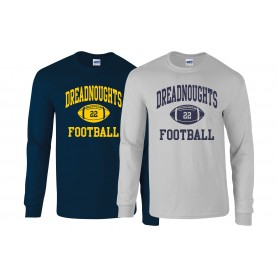 Portsmouth Dreadnoughts - Ball Logo 1 Long Sleeve T Shirt