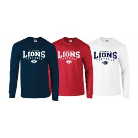 Birmingham Lions  - Custom Ball Logo 2 Long Sleeve T Shirt