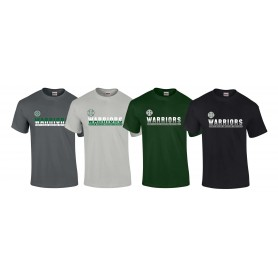 South Wales Warriors - Athletic Split Text T Shirt