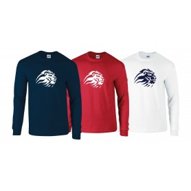 Birmingham Lions  - Full Logo Long Sleeve T Shirt