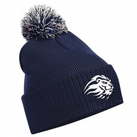 Birmingham Lions - Embroidered Bobble Hat