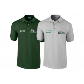 South Wales Warriors - Customised Embroidered Polo Shirt