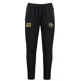 Clyde Valley Blackhawks - CV Embroidered Zipped Pocketed Slim Fit Track Trousers