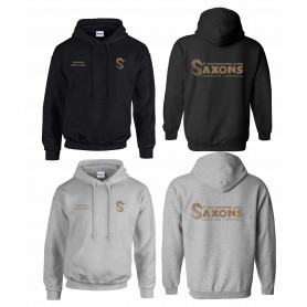 Staffordshire Saxons - Customised Print & Embroidered Hoodie