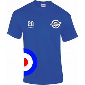 South Coast Spitfires - Custom Embroidered Player T-shirt