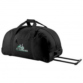 South Wales Warriors - Embroidered Wheelie Holdall