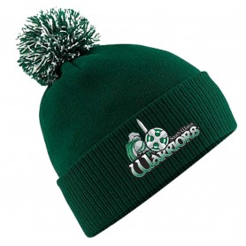 South Wales Warriors - Embroidered Bobble Hat