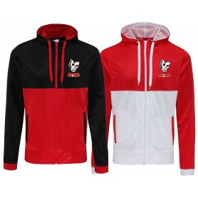 Medway Assassins - Embroidered Retro Track Zip Hoodie