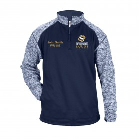 Oxford Saints - Customised Embroidered Tonal Blend Sport 1/4 Zip