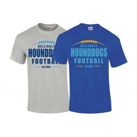Hellingly Hound Dogs - Laces Logo T-Shirt