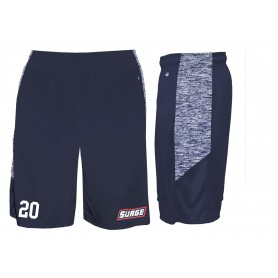 Staffordshire Surge - Custom Embroidered Blend Pocketed Shorts