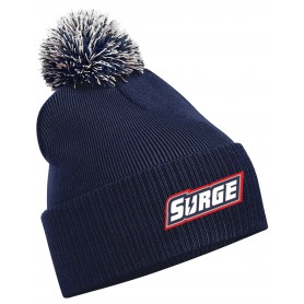Staffordshire Surge - Embroidered Bobble Hat
