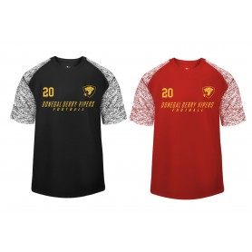 Donegal Derry Vipers - Printed Blend Performance Tee