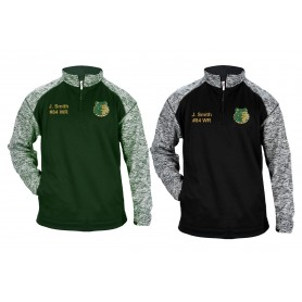 Bangor Mud Dogs - Customised Embroidered Tonal Blend Sport 1/4 Zip