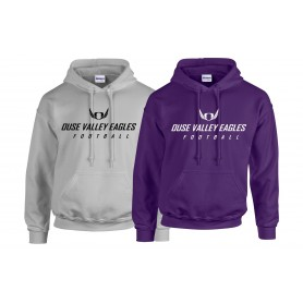 Ouse Valley Eagles - Text Logo Hoodie