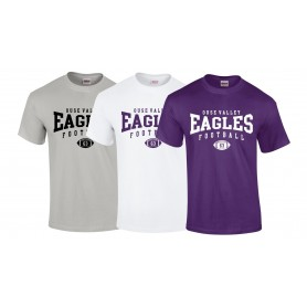 Ouse Valley Eagles - Custom Ball Logo  T-Shirt