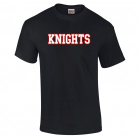 Edinburgh Napier Knights - Personalised Team Name T-Shirt