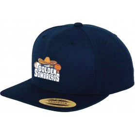 Golden Sombreros - Embroidered Snapback Cap